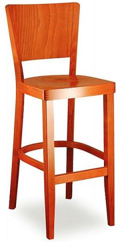 Barová dřevěná židle 361 262 Josefína