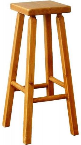 Barová dřevěná židle 00502