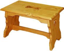 Dřevěná židle 00525 stolička malá