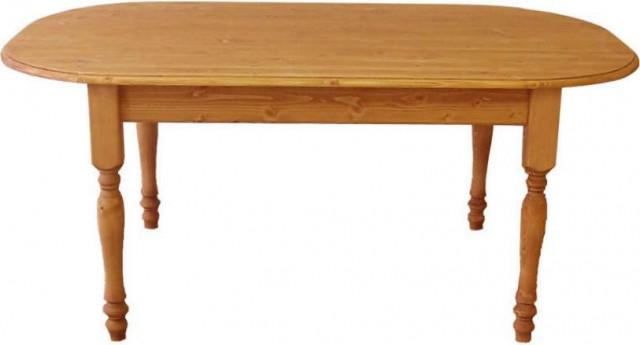 Stůl dřevěný 00443 oválný