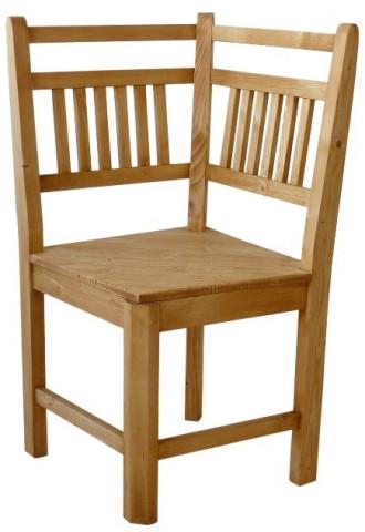 Dřevěná lavice Classic 00535 roh