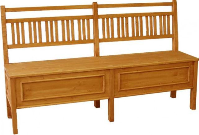 Dřevěná lavice Classic 00512