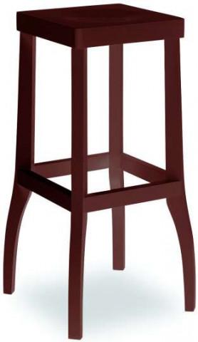 Barová dřevěná židle 371 050 Daniel