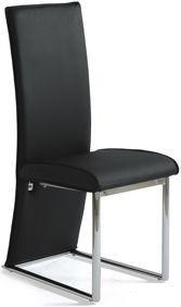 Jídelní židle AC-1367, černá