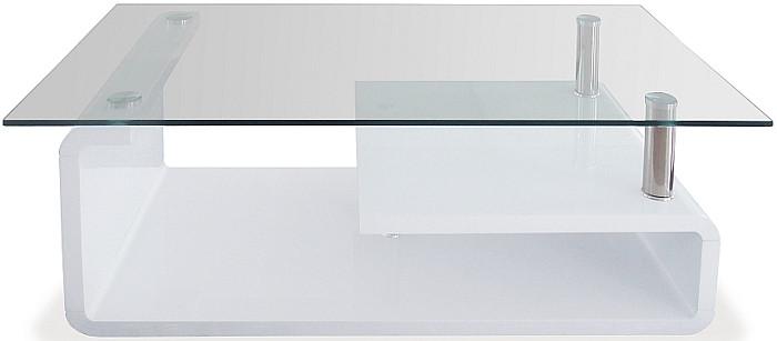 Autronic Konferenční stolek skleněný AHG-056 WT