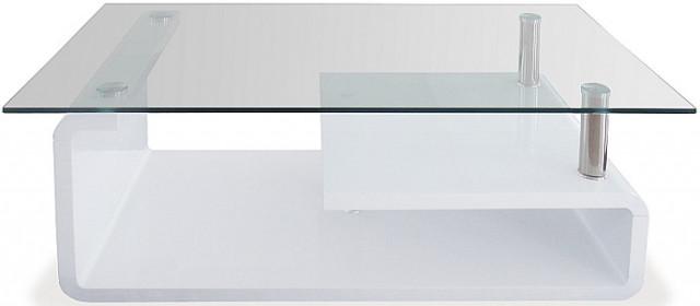 Konferenční stolek skleněný AHG-056 WT