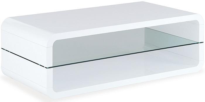 Konferenční stolek skleněný AHG-012 WT