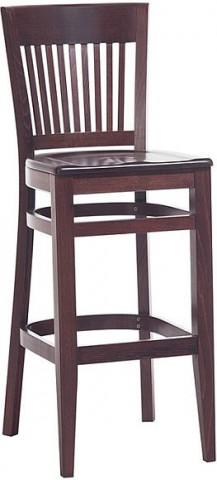Barová dřevěná židle 311 925 Bristol