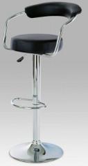 Barová židle AUB-308 - BK - černá