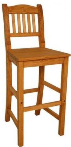 Barová dřevěná židle Dona 00538