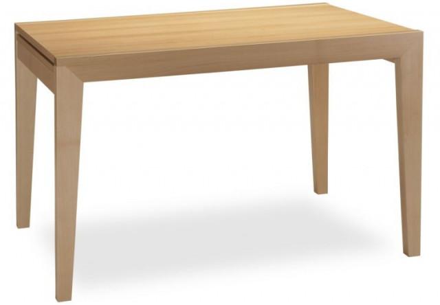 Jídelní stůl Ancona 80x120/140 - bílý