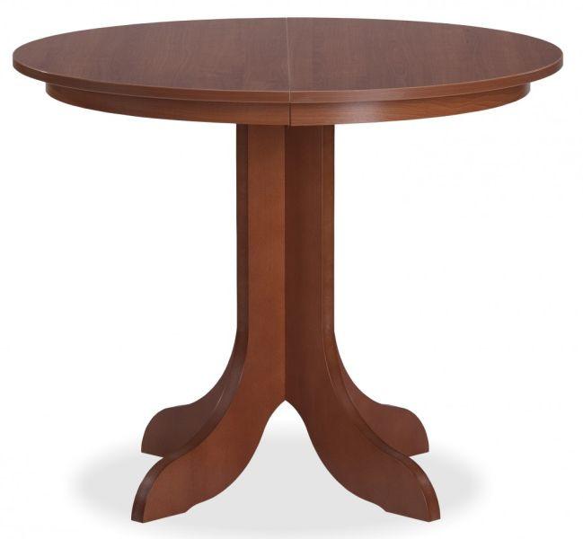 ATAN Jídelní rozkládací stůl Viena kulatý pr.90+35, olše - II.jakost