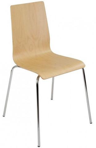 Konferenční židle Lilly dřevěná