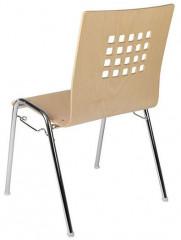 Konferenční židle Viola - dřevěná