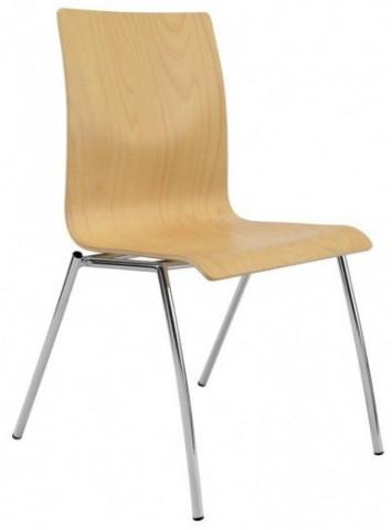 Konferenční židle Ibis - dřevěná