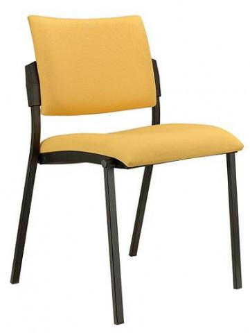Konferenční židle Square černý plast