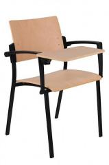 Konferenční židle Square dřevěná