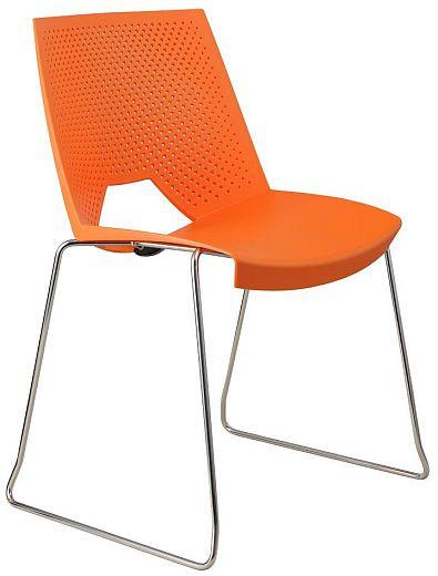 Alba Plastová židle Strike sáně
