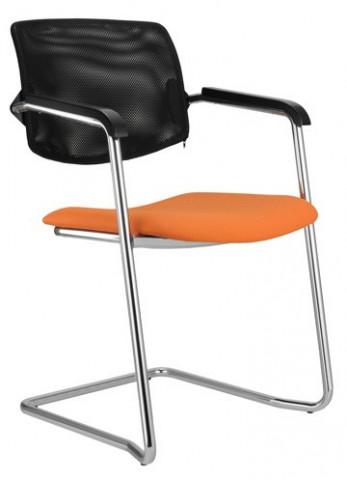 Konferenční židle Wendy síť cantilever