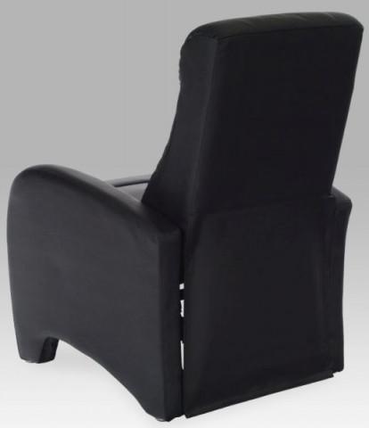 Relaxační křeslo TV-7027 - BK - Ekokůže černá
