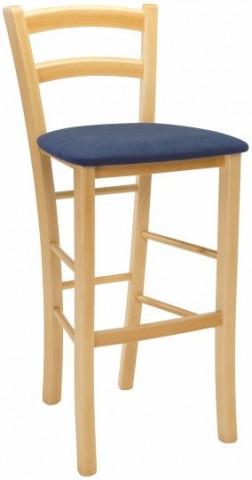 Barová židle Paysane Bar látka zakázkové provedení