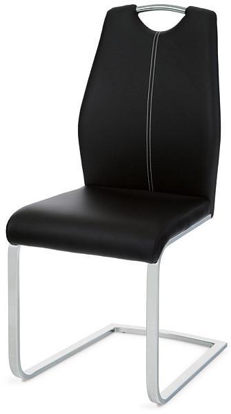 Autronic Jídelní židle HC-785 BK - černá koženka