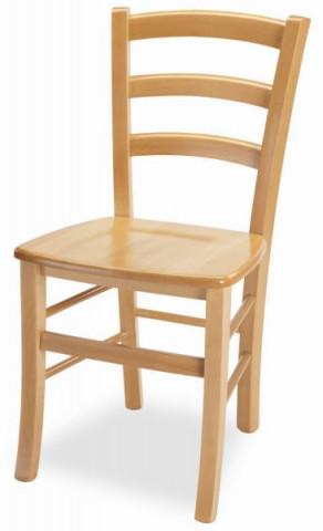Dřevěná židle Venezia - masiv buk - II. jakost