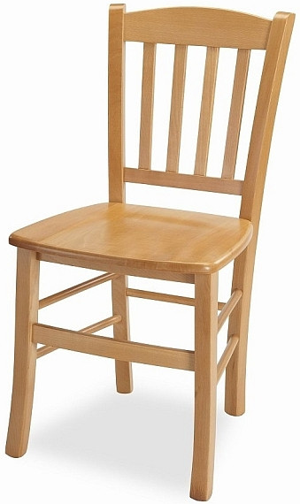 MIKO Dřevěná židle Pamela - masiv