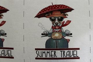Látka Life 030 - pes summer C-000