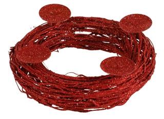 Autronic Věnec MC102400H-4 RED