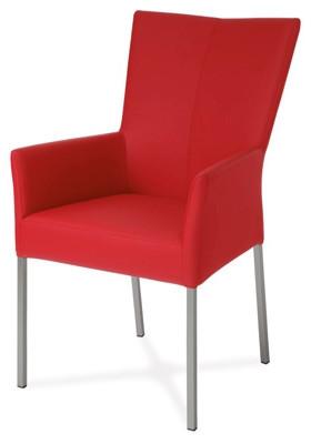 Jídelní židle BE6033-ARM RED