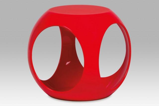 Taburet HF-710 - RED - červená