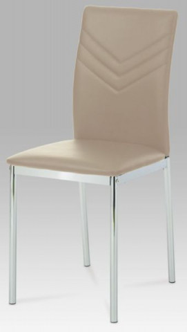 Jídelní židle AC-1280 - CAP - koženka cappuccino