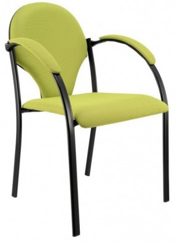 Konferenční židle Neon - čalouněné područky