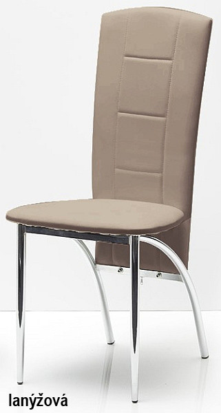 Autronic Jídelní židle AC-1019 WT - bílá