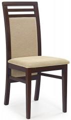 Jídelní židle Sylwek 4 - ořech tmavý/TORENT BEIGE