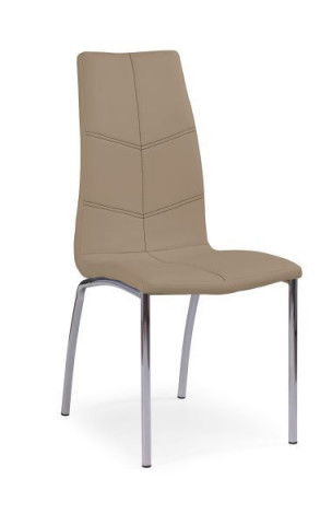 Jídelní židle K114 - tmavě béžová