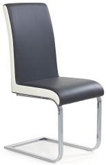 Jídelní židle K103 - šedo-bílá