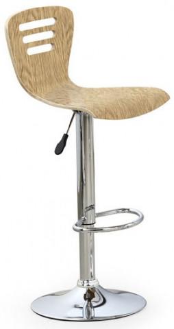 Barová židle H-6 - dub světlý