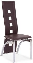 Jídelní židle K4 - tmavě hnědá