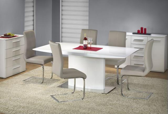 Jídelní stůl Elias - bílý