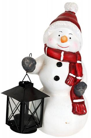 Zimní lucerna Sněhulák KEM685737