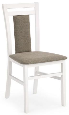 Jídelní židle Hubert 8 - Bílá/látka Inari 23