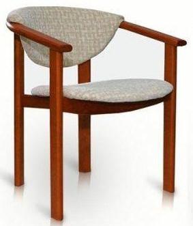 Židle s područkami F1