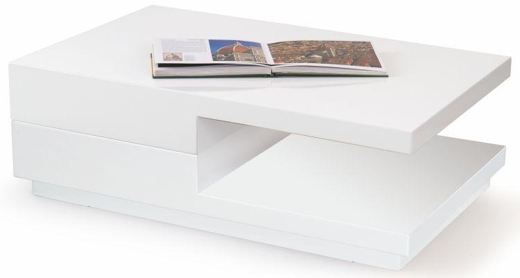 Halmar Konferenční stolek Montana - bílý