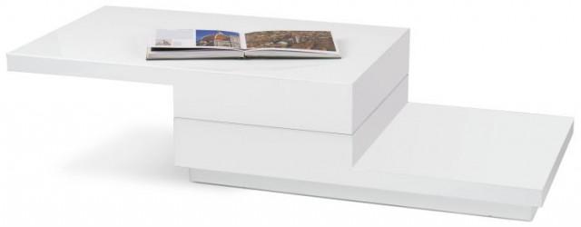 Konferenční stolek Montana - bílý