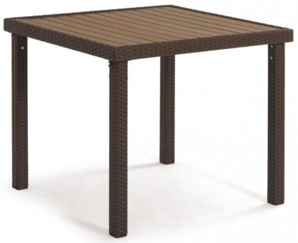 Zahradní stůl BNZ-090, hnědá