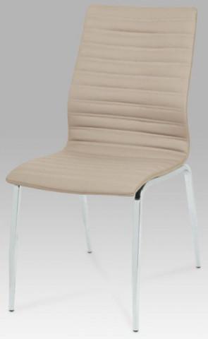 Jídelní židle DCL-578 - CAP - koženka cappuccino