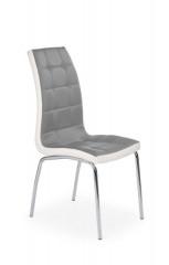 Jídelní židle K186 - šedobílá