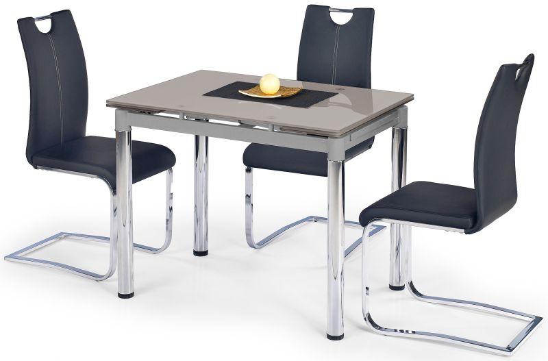 Halmar Jídelní stůl Logan 2 Bílé sklo